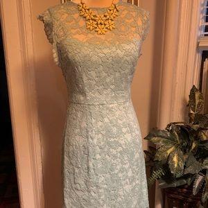 Betsey Johnson Mint Lace Dress Size 2